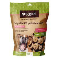 Yoggies XXL bezlepkové piškoty s kuřecím masem 250g