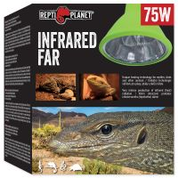 Žárovka výhřevná REPTI PLANET Far Infrared HEAT (75W)